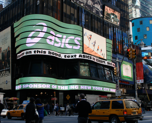 ASICS NYC Super Sign - VITRO - Chris Naples