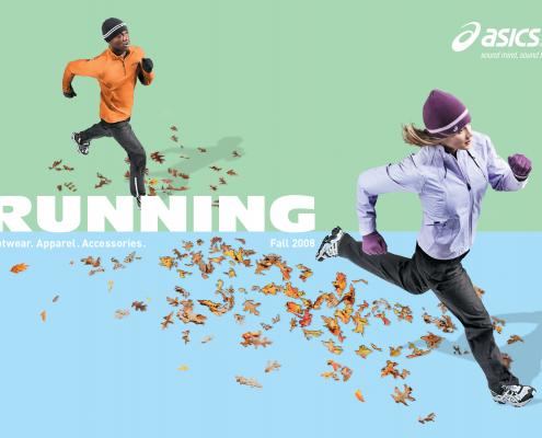 ASICS Coed Running Insert - VITRO - Chris Naples