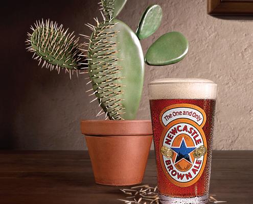 Newcastle Cactus Ad - VITRO - Chris Naples