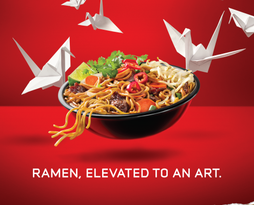 Pei Wei Elevated Ad - VITRO - Chris Naples